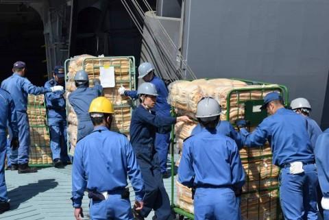 熊本県益城町で発生した地震への災害派遣 防衛省海上自衛隊No4