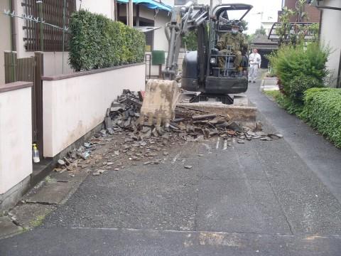 熊本地震への災害派遣(海上自衛隊 機動施設隊[八戸])1
