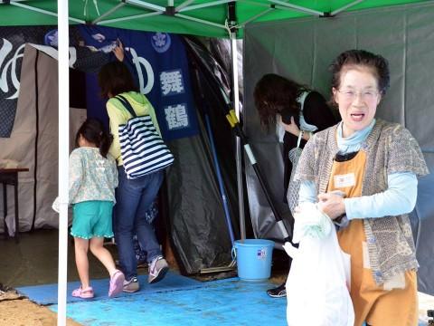 熊本地震への災害派遣(佐世保地方総監部撮影)3