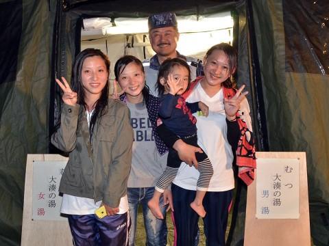 熊本地震への災害派遣(佐世保地方総監部撮影)5
