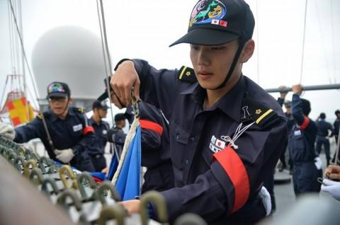 海上自衛隊 一般幹部候補生 近海練習航海(練習艦隊)の記録4No1