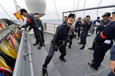 海上自衛隊 一般幹部候補生 近海練習航海(練習艦隊)の記録4No2