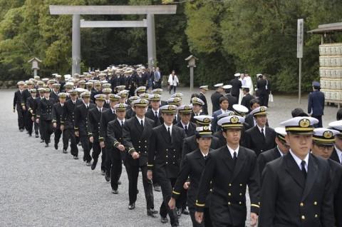 海上自衛隊 一般幹部候補生 近海練習航海(練習艦隊)の記録4No3