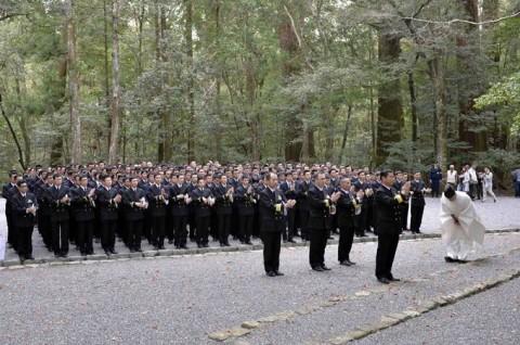 海上自衛隊 一般幹部候補生 近海練習航海(練習艦隊)の記録4No4