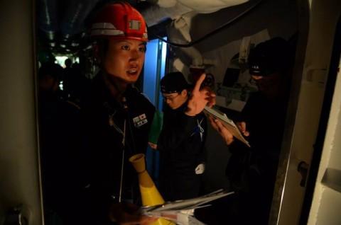 海上自衛隊 一般幹部候補生 近海練習航海(練習艦隊)の記録4No5