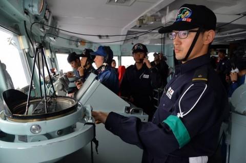 海上自衛隊 一般幹部候補生 近海練習航海(練習艦隊)の記録4No6