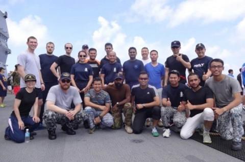 海上自衛隊 護衛艦いせ WPNS2016シップライダー・プログラムNo04