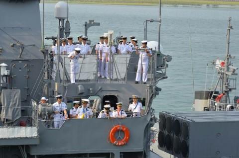 海上自衛隊 一般幹部候補生 近海練習航海(練習艦隊)の記録3no1