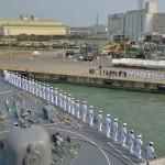 海上自衛隊 一般幹部候補生 近海練習航海(練習艦隊)の記録3