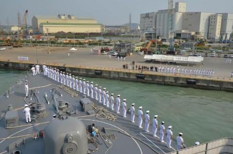 海上自衛隊 一般幹部候補生 近海練習航海(練習艦隊)の記録3no2