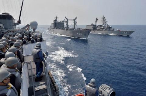 海上自衛隊 一般幹部候補生 近海練習航海(練習艦隊)の記録3no3