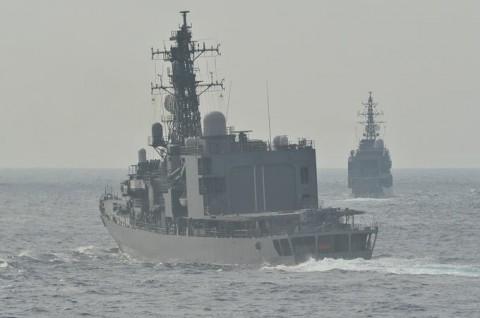 海上自衛隊 一般幹部候補生 近海練習航海(練習艦隊)の記録3no4