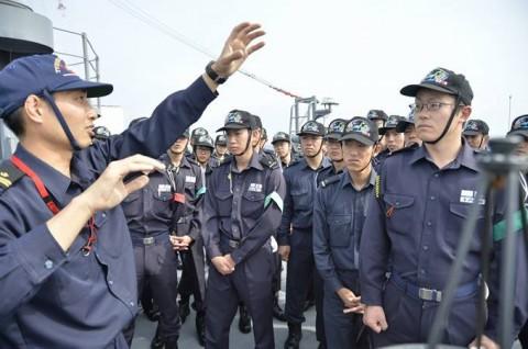 海上自衛隊 一般幹部候補生 近海練習航海(練習艦隊)の記録3no5