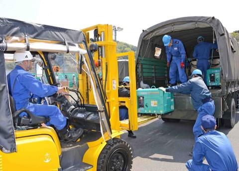 熊本地震への災害派遣(舞鶴)2