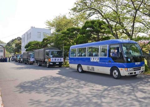 熊本地震への災害派遣(舞鶴)4