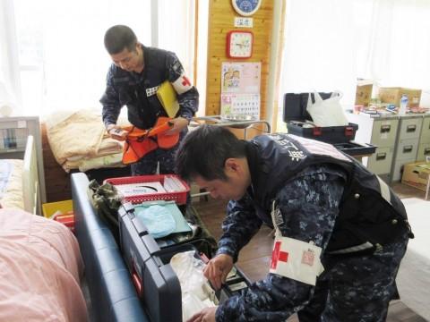 熊本地震への災害派遣(阪神基地隊(神戸)5