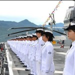 インドネシア海軍国際観艦式に参加 海上自衛隊 護衛艦「いせ」