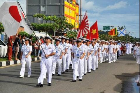 インドネシア海軍国際観艦式に参加 海上自衛隊 護衛艦「いせ」No6