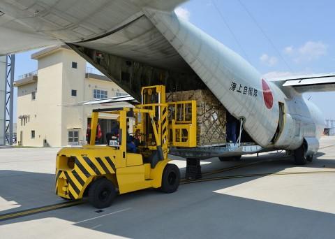 熊本地震への災害派遣(岩国航空基地)2