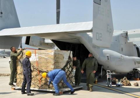 熊本地震への災害派遣(岩国航空基地)4
