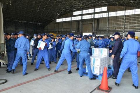 熊本地震への災害派遣(岩国)4