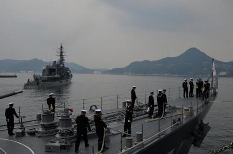 海上自衛隊 一般幹部候補生 近海練習航海(練習艦隊)の記録21