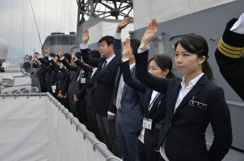 海上自衛隊 一般幹部候補生 近海練習航海(練習艦隊)の記録23