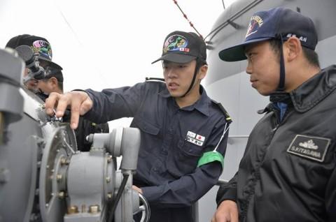 海上自衛隊 一般幹部候補生 近海練習航海(練習艦隊)の記録24