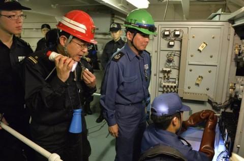 海上自衛隊 一般幹部候補生 近海練習航海(練習艦隊)の記録25