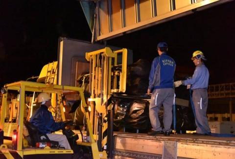 熊本益城町地震への災害派遣(緊急展開型入浴支援セット)No1