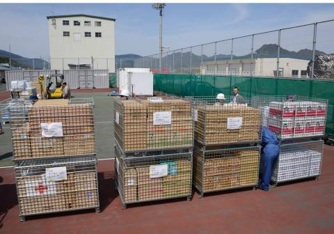熊本県益城町で発生した地震への災害派遣(舞鶴基地)NO2