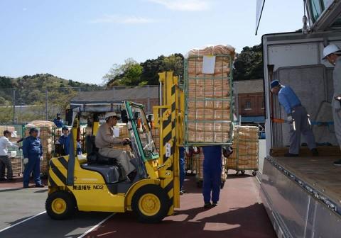 熊本県益城町で発生した地震への災害派遣(舞鶴基地)NO3