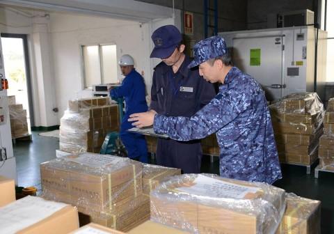 熊本県益城町で発生した地震への災害派遣(舞鶴基地)NO4