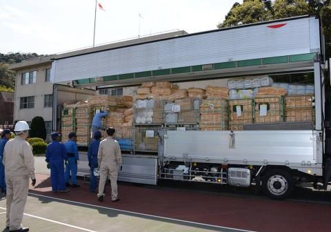 熊本県益城町で発生した地震への災害派遣(舞鶴基地)NO5