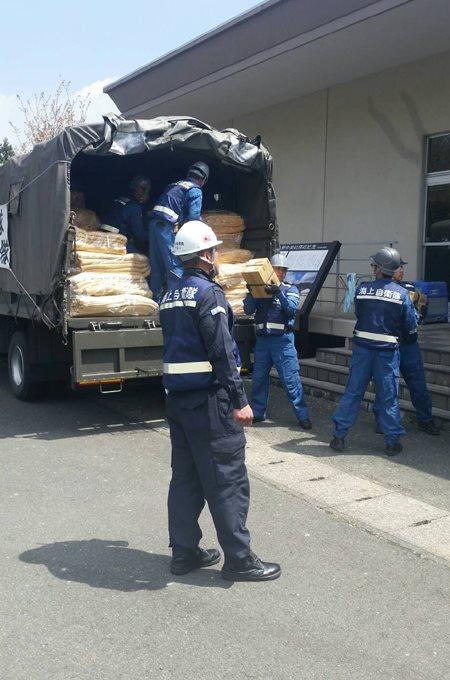 熊本地震への災害派遣(呉)7