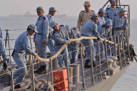 派遣海賊対処行動水上部隊(23次隊) 護衛艦「まきなみ」、「すずなみ」隊員の記録2