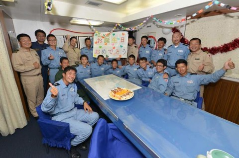 派遣海賊対処行動水上部隊(23次隊) 護衛艦「まきなみ」、「すずなみ」隊員の記録5