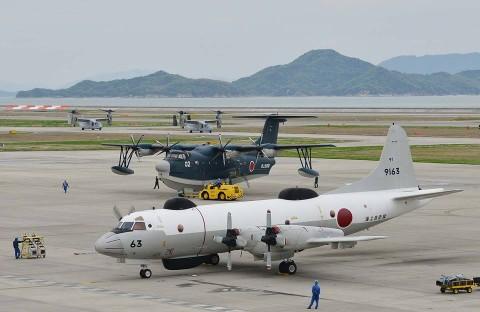 熊本益城町地震への災害派遣(岩国航空基地)1