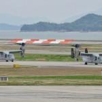 熊本益城町地震への災害派遣(岩国航空基地MV22オスプレイ等)