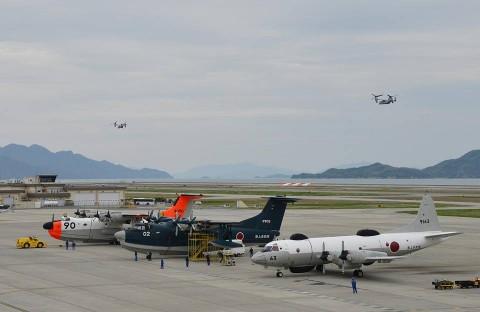 熊本益城町地震への災害派遣(岩国航空基地)3