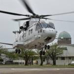 熊本益城町で発生した地震への災害派遣 掃海輸送ヘリコプターMCH-101他