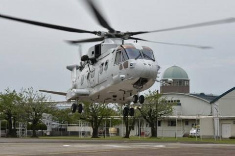 熊本益城町で発生した地震への災害派遣(掃海輸送ヘリコプター「MCH-101」NO11