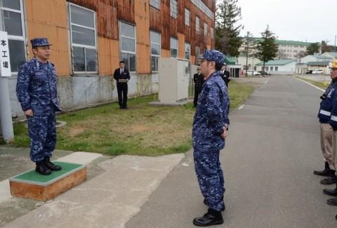 熊本益城町の地震への災害派遣(大湊地方隊)No04