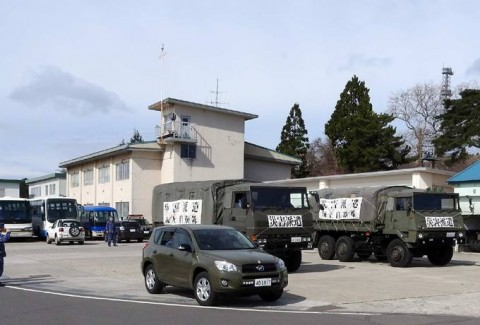 熊本益城町の地震への災害派遣(大湊地方隊)No05