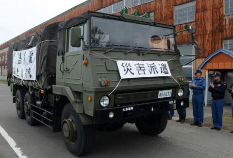 熊本益城町の地震への災害派遣(大湊地方隊)No07