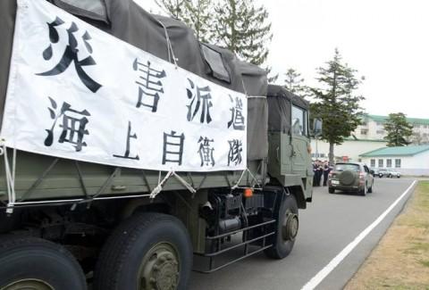 熊本益城町の地震への災害派遣(大湊地方隊)No08