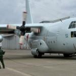 熊本益城町の地震への災害派遣 大村航空基地・大湊地方隊C-130R