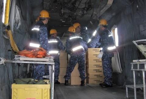 熊本益城町の地震への災害派遣(大村航空基地)No03