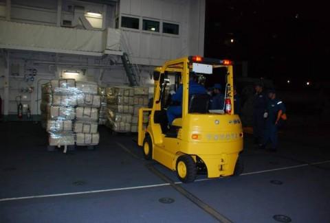 熊本益城町の地震への災害派遣(大村航空基地)No10
