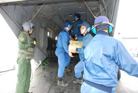 熊本益城町の地震への災害派遣(大村航空基地)No12